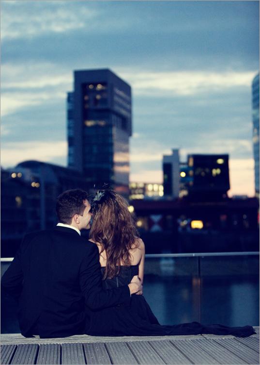 Engagement Fotoshooting fuer Einladungskarten Duesseldorf